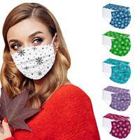 Unisex Weihnachten Mundmasken Gesichtsmaske Behelfsmaske Face Maske