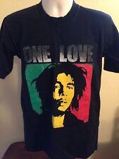 VINTAGE BOB MARLEY ONE LOVE T SHIRT MEDIUM