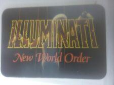 Illuminati New World Order Card Game rare cards MINT CONDITION
