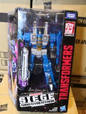 Transformers Hasbro Siege War for Cybertron Voyager Class Thundercracker WFC-S39