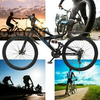 26inch Carbon Steel Mountain Bike Shimanos,21 Speed Bicycle Full-Suspension MTB