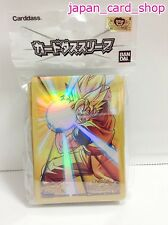21510 AIR Miracle Battle Carddass Card Sleeve(60) 62x90mm Dragon Ball Goku Son