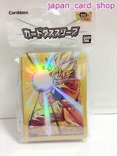 21510 AIR Miracle Battle Carddass Card Sleeve(60) 62x90mm Dragon Ball Goku Son