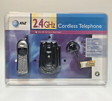 Sealed New At&T Black 1145 Cordless 2.4 Ghz Telephone Caller Id Headset Manual
