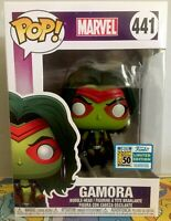 Funko Pop Gamora Marvel Real SDCC 2019 Limited Edition #441 Convention Bought
