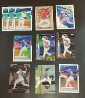 Brusdar Graterol Rookie Card Lot RC Dodgers Topps Chrome Xfractor Select Optic