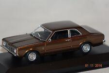 Ford Taunus 1970 marrón metalizado 1:43 maxichamps nuevo & OVP 940081300