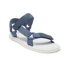 Vince Men's Destin Leather Grip Strap Sandals Blue Size 9