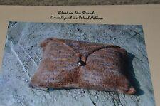 Wool in the Woods Knitting Pattern Enveloped in Wool Pillow