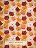Meow Kitty Cat Kitten Feline Animal Head Toss  #830 Newcastle Cotton Fabric YARD