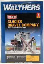 N Scale Glacier Gravel Company Structure Kit - Walthers #933-3241
