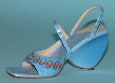 "Just the Right Shoe, Raine, ""Karner Blue"" mixed media miniature # 25183 Nib/Coa"