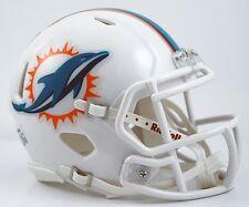 NFL Football mini casco Helmet Miami Dolphins Speed casco de fútbol americano Riddell