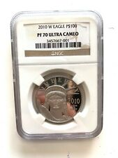 2010-W $100 Proof Platinum Eagle Commemorative Coin NGC PF70 Ultra Cameo