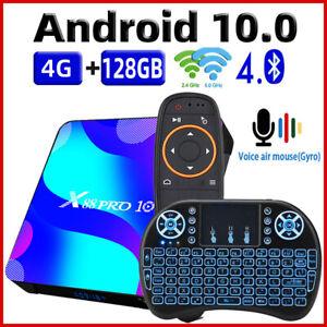 TV Box Android 10 Smart TV Box X88 PRO 10 4GB 16GB Rockchip RK3318 4K TVbox
