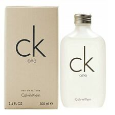 Ck One by Calvin Klein 100ml 3.4 Oz Eau de Toilette Spray Unesex New Boxed