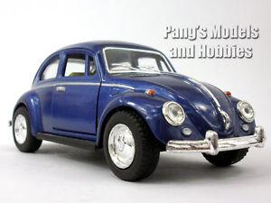 Volkswagen - VW - 1967 Classic Beetle 1/32 Scale Diecast Metal Model - BLUE