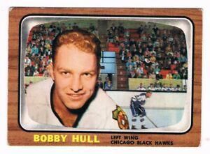 1966-67 Topps  #112 Bobby Hull