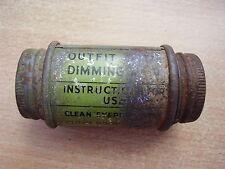 WWII  Military / Civil Defence Original Gas Mask Visor Anti-Dim Kit