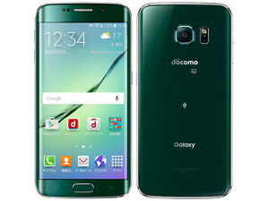 DOCOMO SAMSUNG SC-04G GALAXY S6 EDGE 64GB ANDROID 5.0 PHONE UNLOCKED GREEN NEW