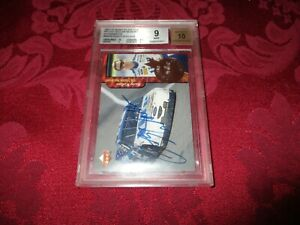 1997 Rusty Wallace UD Road to the Cup  Million Dollar Memoirs Auto GRADED 9/10
