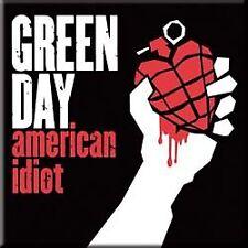 Green Day American Idiot del metal del acero imán Oficial