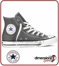 CONVERSE ALL STAR ALTE TG. 37 US 4,5 grigio 1J793 SEASONAL CANVAS CHARCOAL SHOES