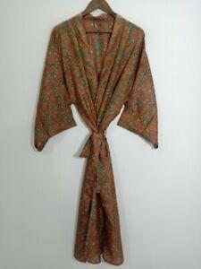 Silk Robe, Dressing Gown,Pure Silk Fabric, kimono, Home wear, Robe, Night Wear