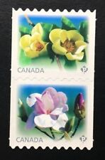 Canada #2622-2623ii Die Cut MNH, Magnolias Pair of Stamps 2013