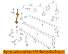 FORD OEM 2010 Mustang Stabilizer Sway Bar-Rear-Link 7R3Z5C488A