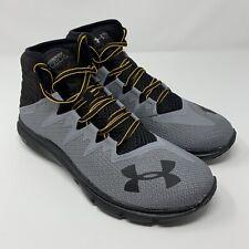c3ba9a98 Under Armour Mens Size 8.5 UA Project Rock Delta Training Shoes 3021055 101  Grey