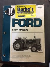 Ford Dexta, Super Dexta,  Major, Power Major & Super Major Workshop Manual
