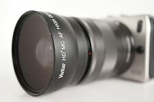 Wide Angle Macro Lens For Canon Eos Digital Rebel M2 M3 M10 18-55mm IS & STM