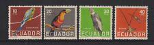 Équateur - 1958,Tropical Oiseaux Ensemble - En Naturel Couleurs - M/M - Sg