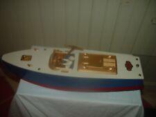 Orkin Wood And Tin Speed Boat