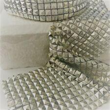 RIBBON SPARKLY Sugarcraft Cake decorating craft mesh SILVER EGYPTIAN PYRAMIDS