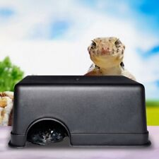 Plastic Hide Box Cave Spawning Pet for Reptiles Lizards Snakes Tortoise Rodents