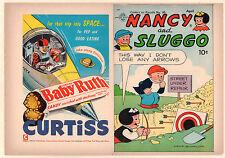 Comics on Parade #95 Unused Comic Book Cover - Nancy and Sluggo (8.0) 1954
