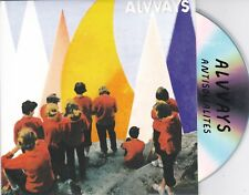 ALVVAYS ANTISOCIALITES RARE 10 TRACK PROMO CD