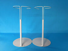 "DOLL STANDS LARGE KAISER FITS 18"" + LARGE DOLLS AMERICAN GIRL 7"" BASE"
