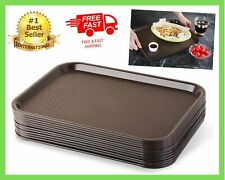 10 Standard Food Serving Trays Fast Dinner Dish Lunch Dining Catering Restaurant