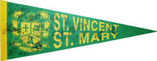 1/1 St. Vincent St. Mary TEAM SIGNED Pennant~LEBRON JAMES High School Signature