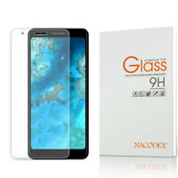 Nacodex For Google Pixel 3A Tempered Glass Screen Protector