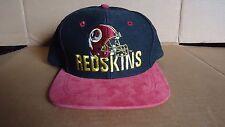 Vintage WASHINGTON REDSKINS Snapback Hat Cap Team NFL Universal Industries 90's