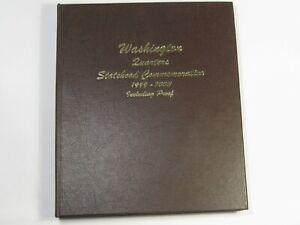 DANSCO #8143 Washington Statehood Quarters 1999-2003 w/ Proofs NEW.  #25