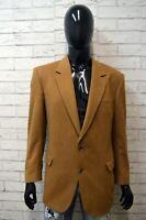 BURBERRY Giacca Sartoriale Anni 80 in Cashmere Uomo Blazer Taglia 48 Jacket Man