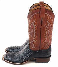 Lucchese Mens M4537 Hornback Caiman Crocodile Cowboy Mad Dog Boot Size 11.5 B