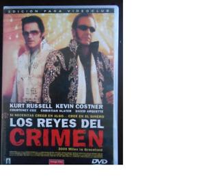 DVD LOS REYES DEL CRIMEN - KEVIN COSTNER - EDICIÓN DE ALQUILER (5R)