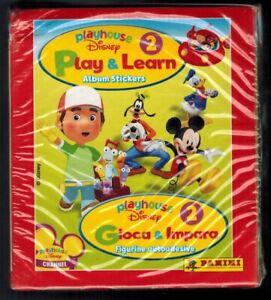 Playhouse Disney 2nd Box 50 Packs Stickers Panini