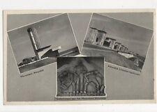 Monument Afsluitdijk Netherlands Vintage Postcard 309a